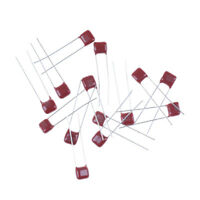10pcs CBB 104J 100V 0.1UF 100NF P5mm Metallized Film Capacitor 104 _FJ
