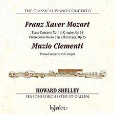 The Classical Piano Concerto: Franz Xaver Mozart, Muzio Clementi (CD,...