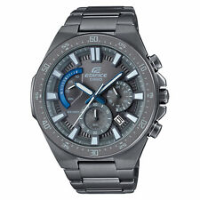 Casio Edifice Gunmetal Grey Chronograph Mens Watch EFR-563GY-1AVUDF RRP £300