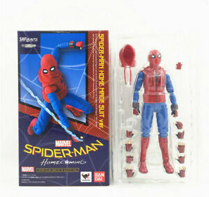 S.H.Figuarts Spider-Man Homecoming Home Made Suit Ver. SHF Action Figure Box