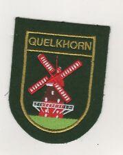 Écusson Patchs Quelkhorn Par Ottersberg Cercle Viersen Moulin à Vent