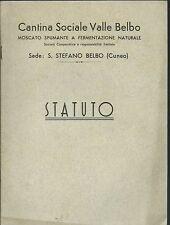 Statuto - Cantina Sociale Valle Belbo - Moscato Naturale - Santo Stefano Belbo