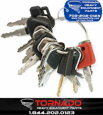 21 Keys Heavy Equipment / Construction Ignition Key Set