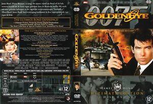 007 Goldeneye DVD (Region 2, 2 Disc Set) Ultimate Edition - VGC