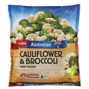 Coles Frozen Cauliflower & Broccoli 500g