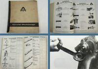 Hanomag Spezialwerkzeuge LKW Schlepper Motoren Schaufellader 1964