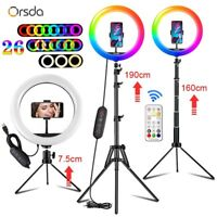 10 inch RGB Ring Light tripod LED Ring Light Selfie Ring Light with Stand video