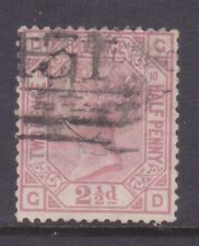 Sg141 2 1/2d Rosy Mauve Gd Plate 10 Cat £75