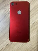 100% Genuine Original USED iPhone 7 full rear Chassis housing Red Grade C