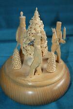 Baumann`s Holzschnitzerei Spieluhr Spieldose Erzgebirge