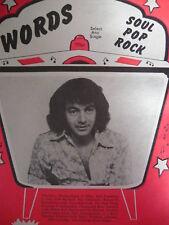 WORDS SONGBOOK MAGAZINE 1/8/77 - NEIL DIAMOND - BERNI FLINT