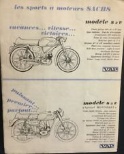 Rare Catalogue Cyclomoteurs « VAP » Sachs (pas Mobylette) 1960