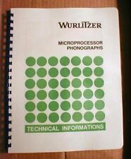 German Wurlitzer Microprocessor Manual