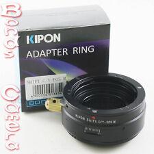 Kipon shift Contax Yashica C / Y lentille pour canon eos m ef-m mount adaptateur M M2 M3