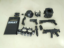 (NO.10-2) custom lego swat police helmet military gun army weapon