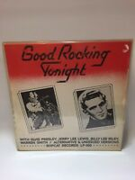 Good Rocking Tonight 1974 Ex+ Elvis Jerry lee lewis,Bobcat Records BLp
