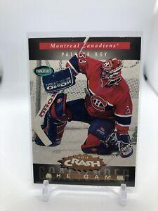 94/95 Parkhurst You Crash The Game Patrick Roy Canadiens