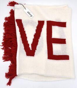 AKEP DONNA SCIARPA LOVE INVERNALE CASUAL TEMPO LIBERO MOHAI ANGORA ART. K890