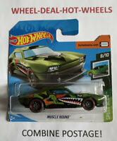 HOT WHEELS 2019 SPEED BLUR MUSCLE BOUND CAMO MOC!