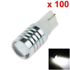 100x White RV T10 W5W Malibu Landscape Light Wedge Lamp Lens 1 CREE LED A079