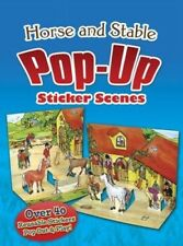 Horse and Stable PopUp Sticker Scenes (Dover Sticker Books), New Books