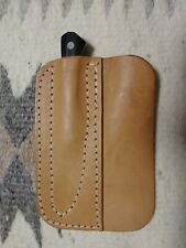 AG Russell Woodswalker Knife with Leather Hip Pocket Sheath