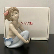 Nao By Lladro Sea Maiden Doncella De La Mar Mint In Box