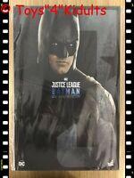 Hot Toys MMS 455 Justice League Batman Ben Affleck 1/6 Figure Normal Version NEW