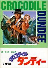 'CROCODILE' DUNDEE Japanese Souvenir Program 1987, Paul Hogan
