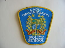PATCH OF THE REGION OF PEEL CADET ORGANIZATION POLICE SCHOOL, ONTARIO, CANADA