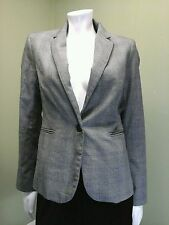 The Saville Row Co. London Women's Black & Gray Hounds Tooth Jacket~Size S
