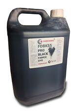 Black Liquid Fabric Dye , Clothes, Denim, Handbags,Spray, Dip, 5 LT FREE POST