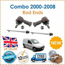 For Vauxhall Combo 2000-2008 Inner Tie Rods Ends & Outer Track Rod Ends x2 New