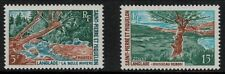 St. Pierre 1969 SC 383-384 Set NH CV $9.50  - Brook Trees