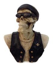 Myths & Legends #5224 Biker Skeleton Skull Collection Hand Painted By W.U. 2006