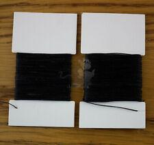 Super Fuerte Unido Nylon 20//40 Tkt hilo de coser cuero negro de reparación de artesanía