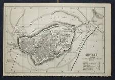 1899 Antica Topografica = ORVIETO =SCALA 1:18000
