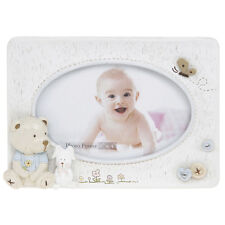 "Baby Bear Oval Photo Frame (Boy) 6x4""  NEW  Gift Idea"