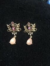 Anime Sailor Moon 25th Anniversary Cosplay Neo Queen Serenity Tiara Earrings