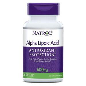 ALA 600mg NATROL Acido Alfa Lipoico