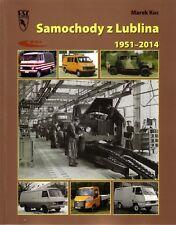 Book - Zuk Lublin Polish Vans Trucks 1951 2014 - Samochody Lublina GAZ Honker