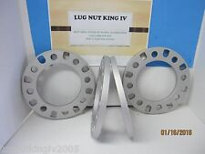 "4 WHEEL SPACERS UNI LUG  1/2 "" THICK 8 LUG   8 on 6 1/2 GMC DODGE CHEVY,OLD FORD"