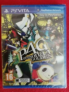 Persona 4 Golden (Sony PlayStation Vita, 2012) NEUF SOUS BLISTER