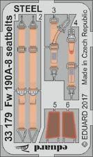 Eduard Zoom 33179 1/32 FOCKE-WULF Fw-190A-8 cinture di sicurezza acciaio REVELL