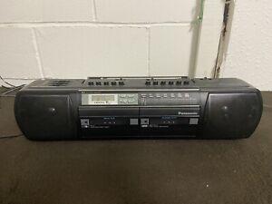Panasonic RX-FT590 Stereo Boombox RX Radio Cassette Player Retro