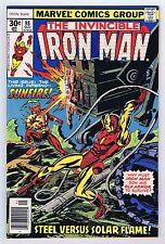 Iron Man #98 Mandarin Appearance 1977 High Grade Near Mint- Marvel Comics