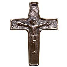 Bronzekreuz Kruzifix 15 cm * 11 cm Kommunion Bronze Cross Crucifix