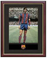 Johan Cruyff Mounted Framed & Glazed Memorabilia Gift Football Soccer