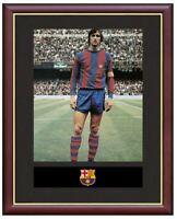 Johan Cruyff Mounted Framed & Glazed Memorabilia Gift Football Soccer