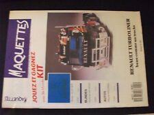 **ma Revue Maquettes n°22 Renault Turboliner / Porsche 911 Turbo